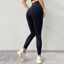 Load image into Gallery viewer, Hollow Out Tummy Control Legging - Dcoup.com