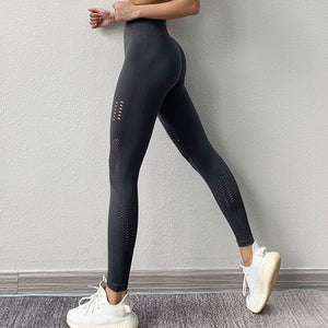 Hollow Out Tummy Control Legging