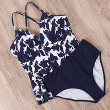 Load image into Gallery viewer, High Waist Tankini Bikini Set - Dcoup.com