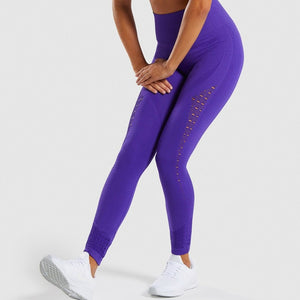 Booty Fitness Tummy Control Leggings - Dcoup.com