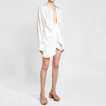 Ruched Shirt Dress - Petite Treason
