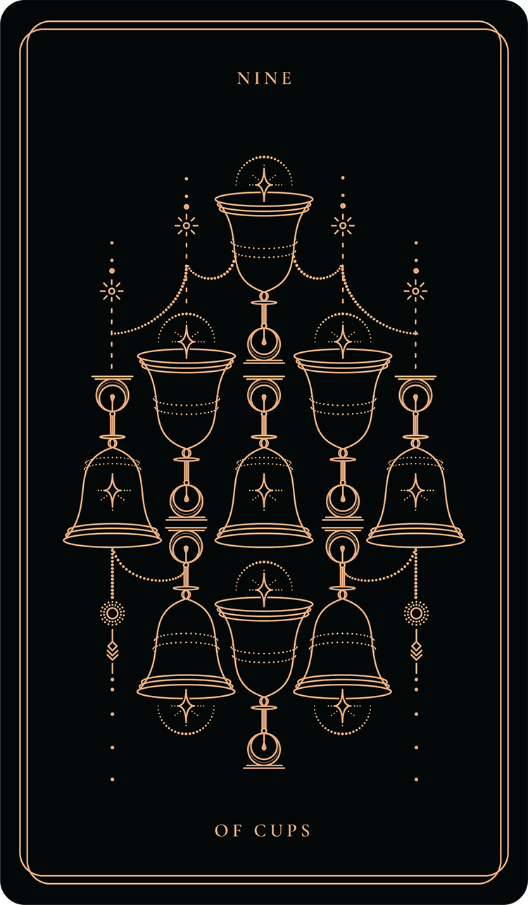 Nine Of Cups – Soul Cards