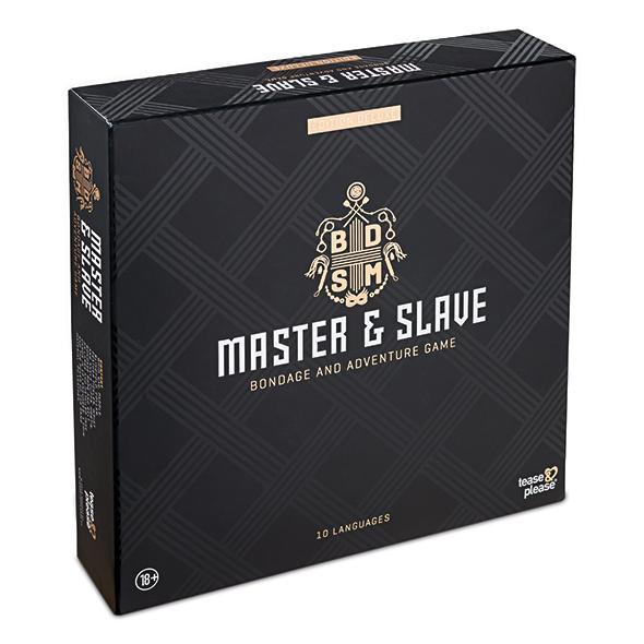 MASTER & SLAVE DELUXE - et erotisk spill for to - OuiOui.no