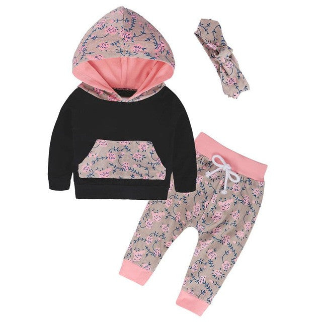 Babies Girl Clothes Set Newborn Baby Girls