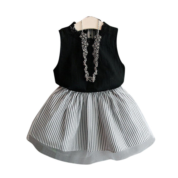 Baby Kids Girl Clothing Sleeveless Blouse