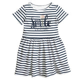 2018 Brand Hooded Cartoon Baby Girls Dress