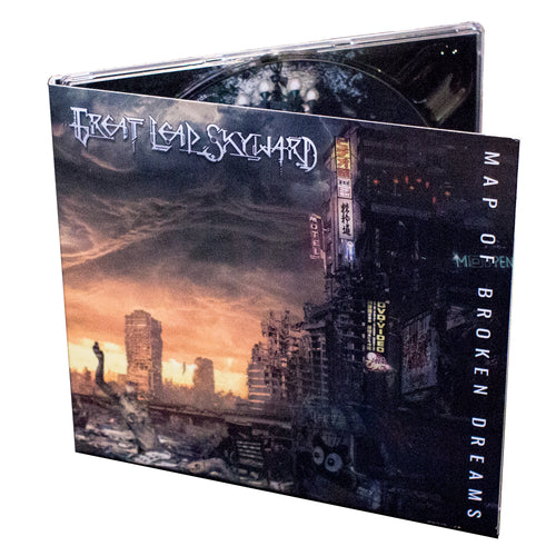 Map Of Broken Dreams (CD Digipak with A3 Poster)