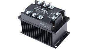 3 Phase Solid State Relays On Heatsink