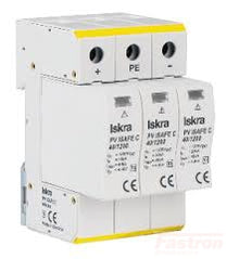 ISPRO C 80/440 (2+0), Modular Surge Protection Device (SPD) 2 Pole 40kA,440VAC, DIN Rail Mount. For Sub Distribution Boards