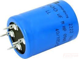 SI4P22242045080 Electrolytic Capacitor, Snap In, ø45 x 80mm 450V 2200uF +/-20%-Electrolytic Power Capacitor-Fischer & Tausche-Fastron Electronics Store
