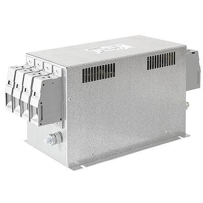 FMBD-B92A-1612, 2 Stage EMC (RFI) Line Filter for 3-phase 4 wire systems, 16 Amp, 520VAC