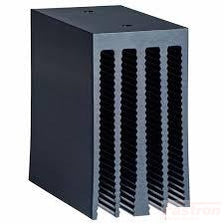 HS151, Panel Mount Heat sink, 40Amp @ 40 Deg, for 1 single Solid State Relay,