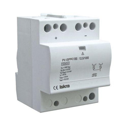 ISPRO-K BS(R) 37.5/440 (3+0), Modular Surge Protection Device (SPD), 3 Pole 37.5kA ,440VAC, DIN Rail Mount, L/N-PE, L-PEN, L-N, N-PE High Energy MOV and GDT-Surge Protection Device-Iskra Doo-Fastron Electronics Store