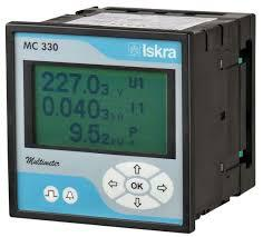 MC330 S 110V SUNNNPT, Panel Mount Mutifunction Meter, Class 1, 110VAC 50/60Hz Measurement, Universal 20-300VDC, 48-265VAC Aux