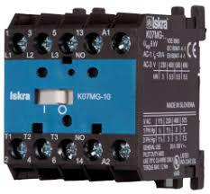 K08MG-10, AC Miniature Contactor 240/400/500/690V, with 24VDC Control Voltage, 4 Pole 4 x NO, Nominal Current = 15.5 Amps-Miniature AC Contactor-Iskra Doo-Fastron Electronics Store