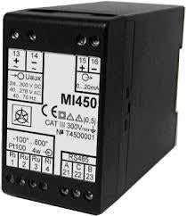 MI454, Potentiometer and Tap Position Programable Transducer, Class 0.5, Universal 20 - 300VDC/40 to 276VAC 40 to 70Hz , Aux Voltage 57.74V,100V,230V,400V,500VAC-AC Voltage Transducer-Iskra Doo-Fastron Electronics Store
