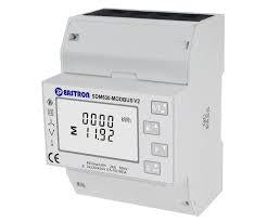 SDM630Modbus-MID-V2-CL1, DIN Rail Mount kWh Meter, 3 Phase, 240VAC aux, Class 0.5, 100Amp Direct Connect, w/ 2 x pulse outputs and RS485 Modbus RTU Comms, MID Approved