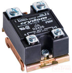 HS501DR + MCBC2425CF, Single Phase Proportional Burst Controller with Heatsink, 10 Cycles, 0-10VDC Input, 90-280VAC, 9 Amps