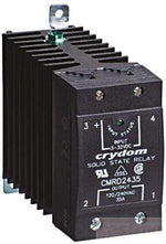 CMRD6045, Solid State Relay, Single Phase 3.5-32VDC Control, 45A, 48-660VAC Load, Din Rail