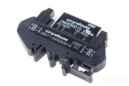 DRA1-CMXE60D10, Solid State Relay,, 20-28VDC Control, 10 Amp, 0-60VDC Load, Din Rail