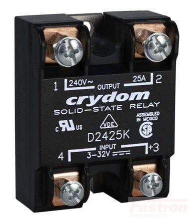 HD4850K-10, Solid State Relay, Single Phase 3-32VDC Control, 50A, 48-530VAC Load, Random Crossing, Gen 3 style
