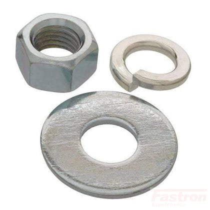 Fastron Electronics Semiconductor Accessories M6 Nut and Washer FE-M6 Nut and Washer