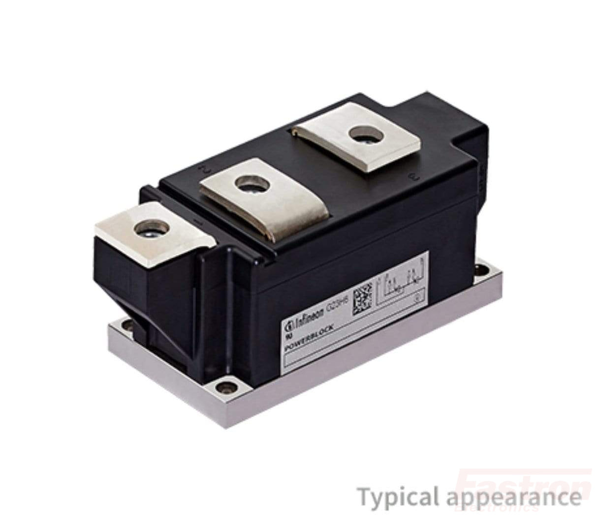 TT250N12KOF-K, Dual Thyristor Module, Common Cathode 250 Amp, 1200V