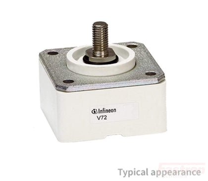 Infineon Technologies Semiconductor Accessories V72-26-150M, Box Clamp to suit 58/26 PUK device FE-V72-26-150M