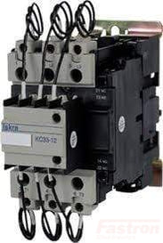 KC25-11-230-50, Capacitor Duty Contactor 240/480/600VAC @ 12.5, 25, 33.3 kVar, 100,000 Operations