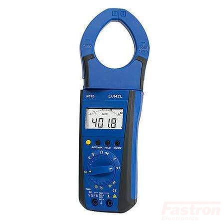 NC12-200E1, 1000Amp AC/DC Clamp-On Meter with Rotating Jaw, TRUE RMS MEASUREMENT