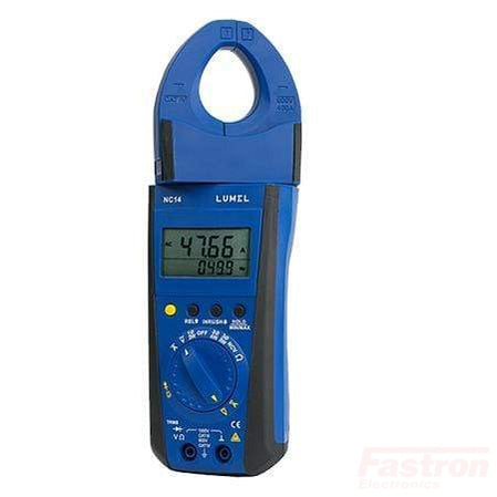 NC14-200E1, 1000Amp AC/DC Clamp-On Power Meter with Rotating Jaw, TRUE RMS MEASUREMENT