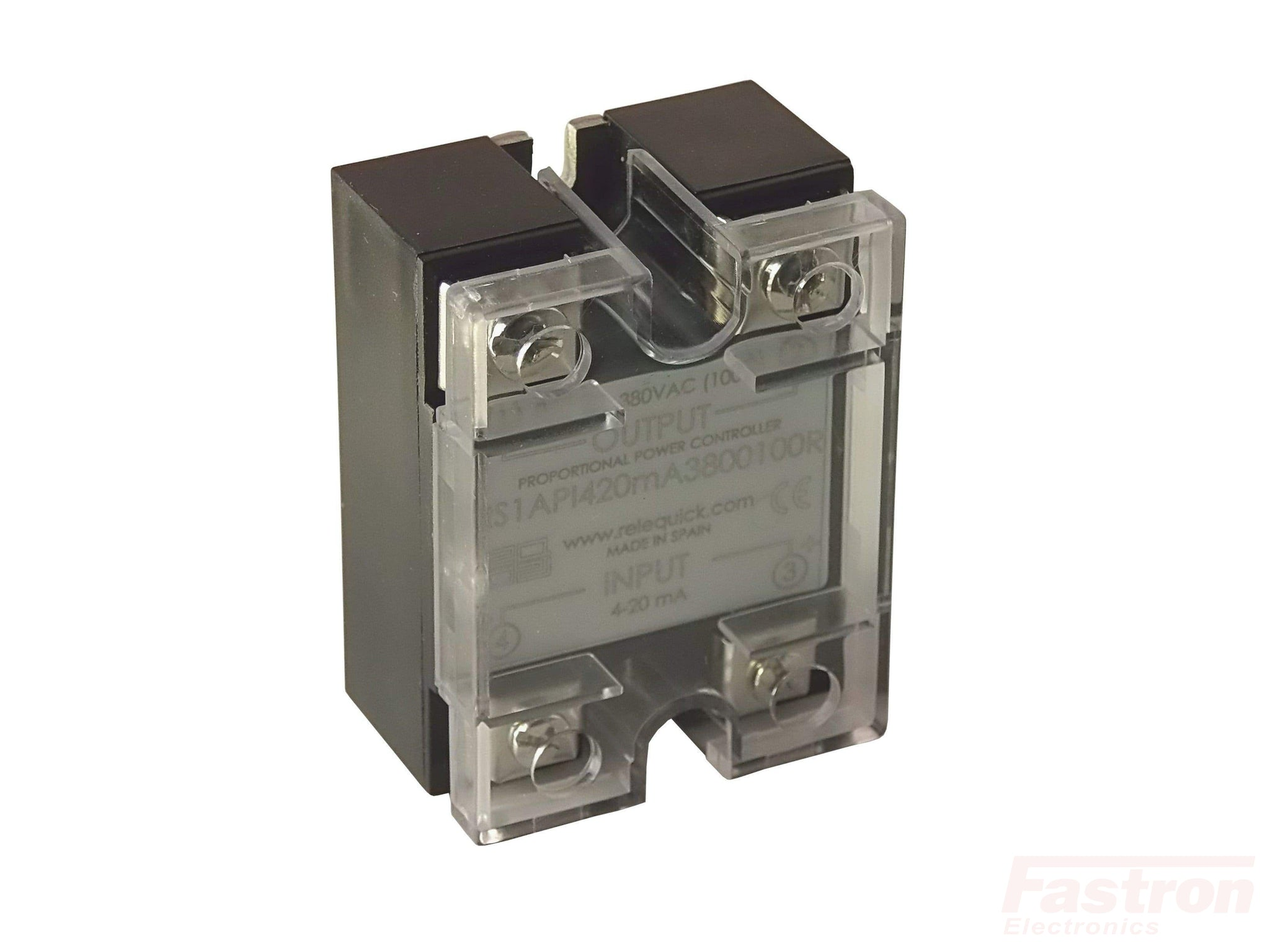 RS1API420MA280060R, Solid State Relay based Integrated Proportional Controller, 4-20mA Input, 240VAC 60Amp Load
