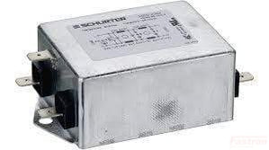 5500-2062, 2 Stage EMC (RFI) Line Filter, FSW2-65-10/5 10A, 250VAC, Very High Symmetrical and Asymmetrical Attenuation
