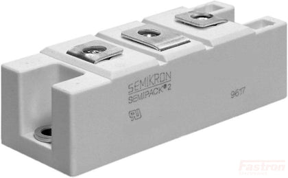 Semikron Single Diode Module SKKE162/16, 162 Amp, 1600V, Single Diode Module FE-SKKE162/16