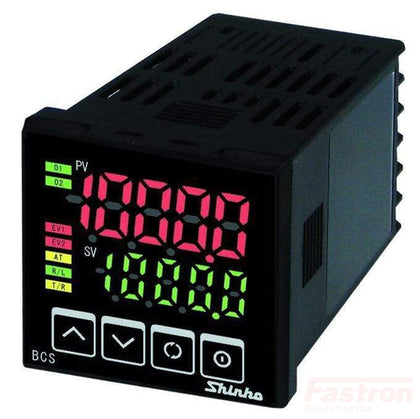 Shinko Technos Co Ltd 48x48 Temperature/Humidity Controller BCS2A0016, Temperature Controller, 48x48, 100-240VAC, 4-20mA output, And Alarm/Relay Cooling Output, RS485 Comms FE-BCS2A0016 Upgrade