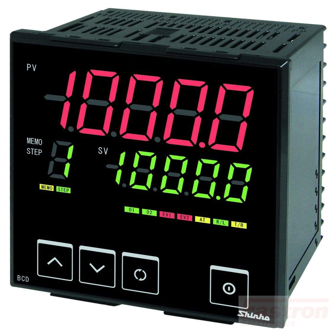BCD2R1006 Temp Controller, 96x96mm, 24VAC/DC, SSR output, RS485 Comms