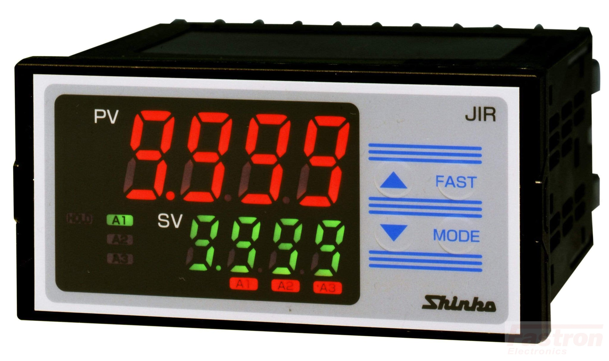 JIR301M1-C5 Indicator, 48x96mm, 24VAC/DC, 3 Alarm outputs, 4-20mA Retransmission , RS485 Comms