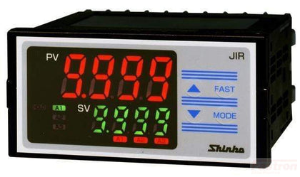 Shinko Technos Co Ltd Indicator JIR301M1 Indicator, 48x96mm, 24VAC/DC, 3 Alarm outputs, 4-20mA Retransmission FE-JIR301M1