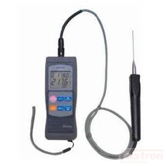 Shinko Technos Co Ltd Portable Meter DFT-700-M Hand Held Digital Thermometer for Type K,R,B,S, Pt100 FE-DFT-700-M