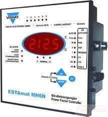 Vishay Power Factor Controller ESTAmat MH-6N, Power Factor Controller, 6 Step, 90-690V 50/60HZ FE-Estamat MH-6N