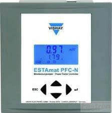 Vishay Power Factor Controller Estamat PFC-12N, Power Factor Controller, 12 Step, 90-690V 50/60HZ FE-Estamat PFC-12N