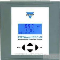 Vishay Power Factor Controller ESTAmat PFC-6N, Power Factor Controller, 6 Step, 415V 50/60HZ FE-Estamat PFC-6N