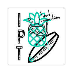 IPT SUP Pineapple Square Stickers