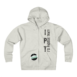 I P T Unisex Heavyweight Fleece Zip Hoodie