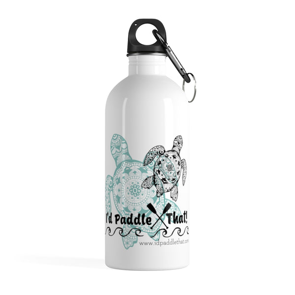 Sea Turtle Steel Water Bottle