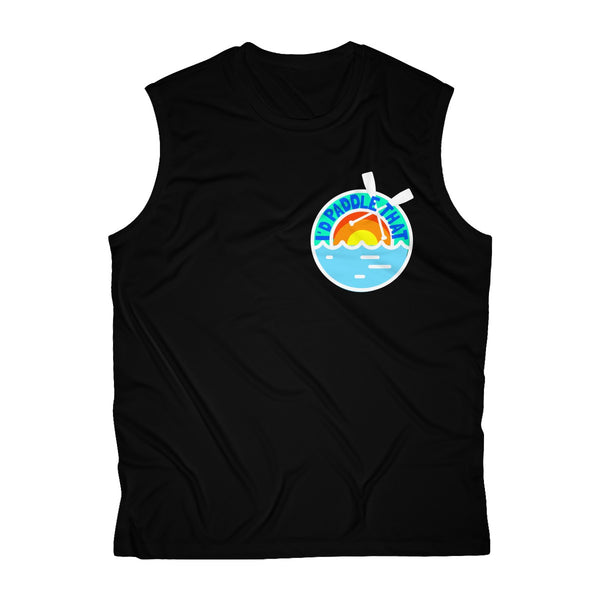 #RiverRat Men's Sleeveless Performance Tee