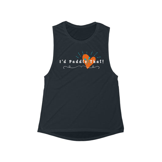I ❤️ Sup Women's Flowy Scoop Muscle Tank (runs small - size up)