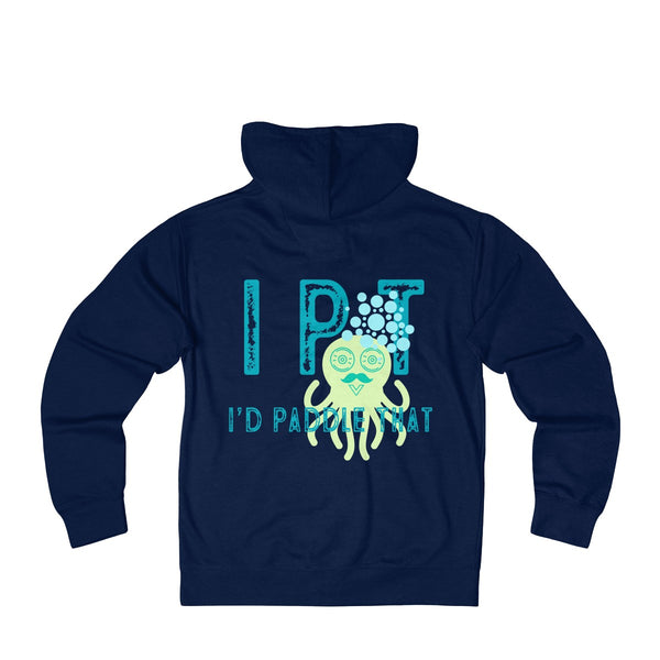 Octo Bubbles Unisex French Terry Zip Hoodie