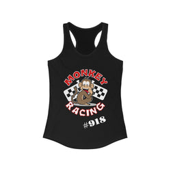 Monkey Racing Women's Ideal Racerback Tank