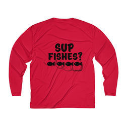 Men's SUP Fishes Long Sleeve Moisture Absorbing Tee